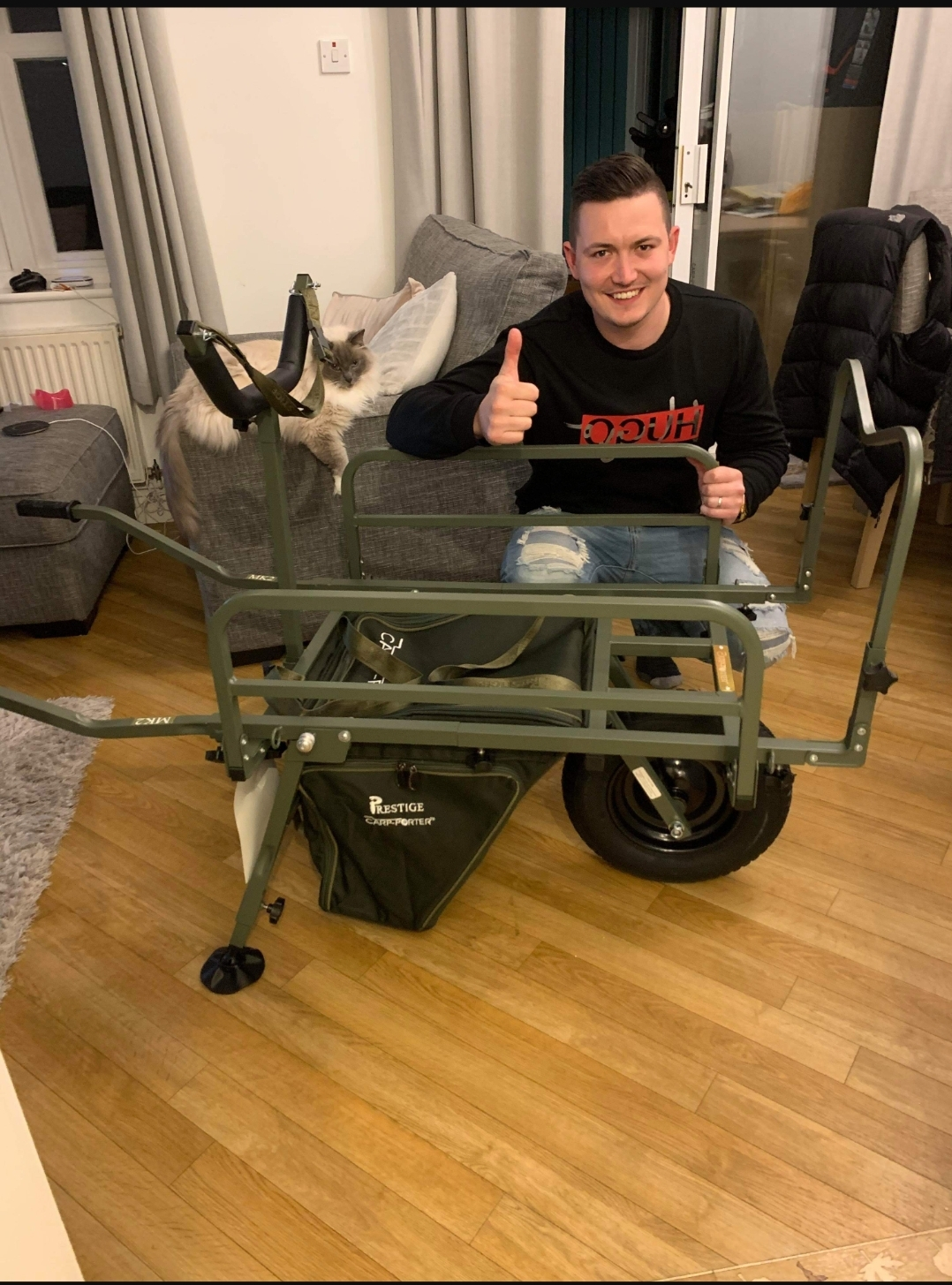 James Gibbs bags a Carp POrter BArrow