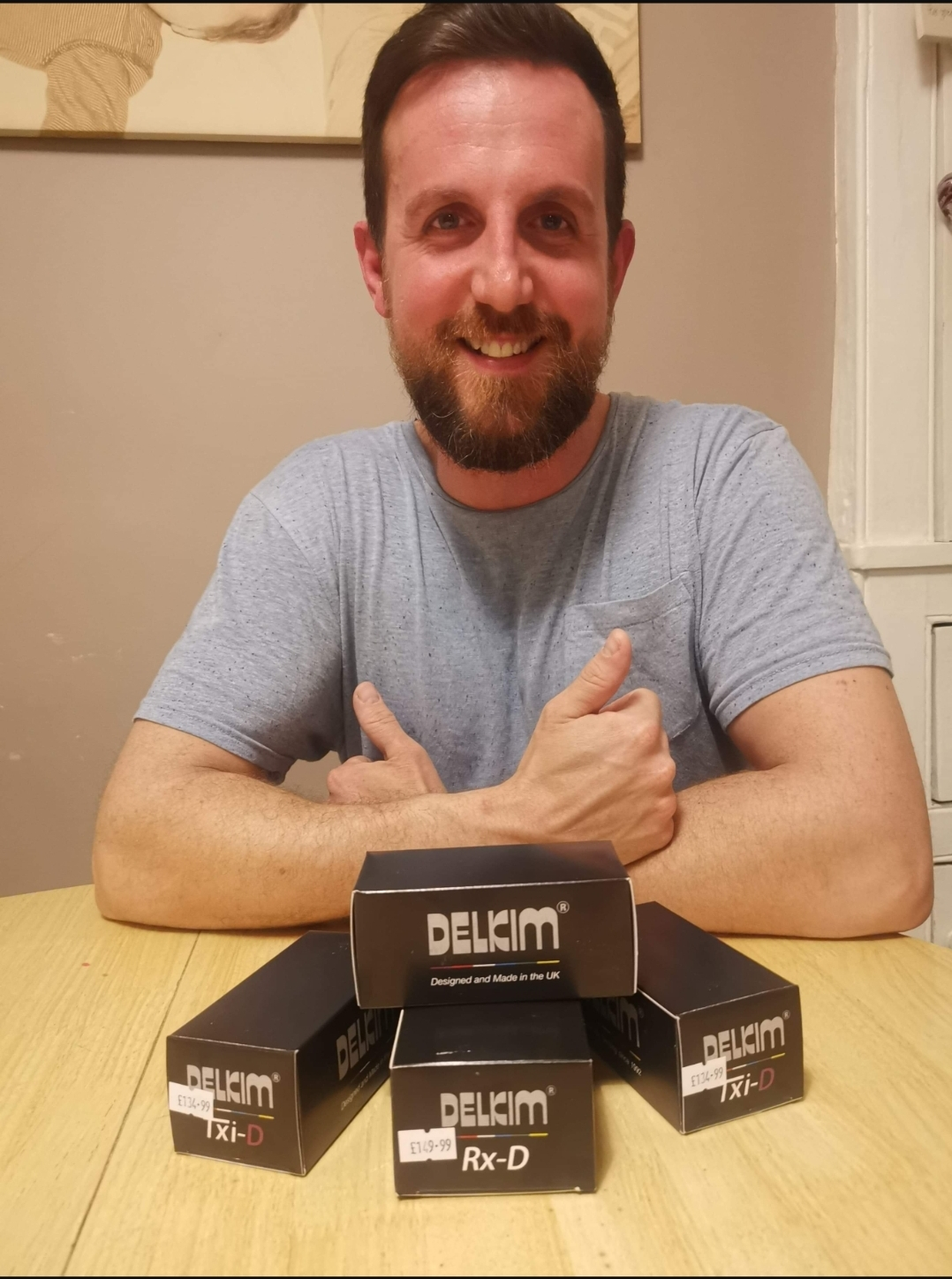 Daniel Holland wins a set of Delkim TXI D and Receiver!