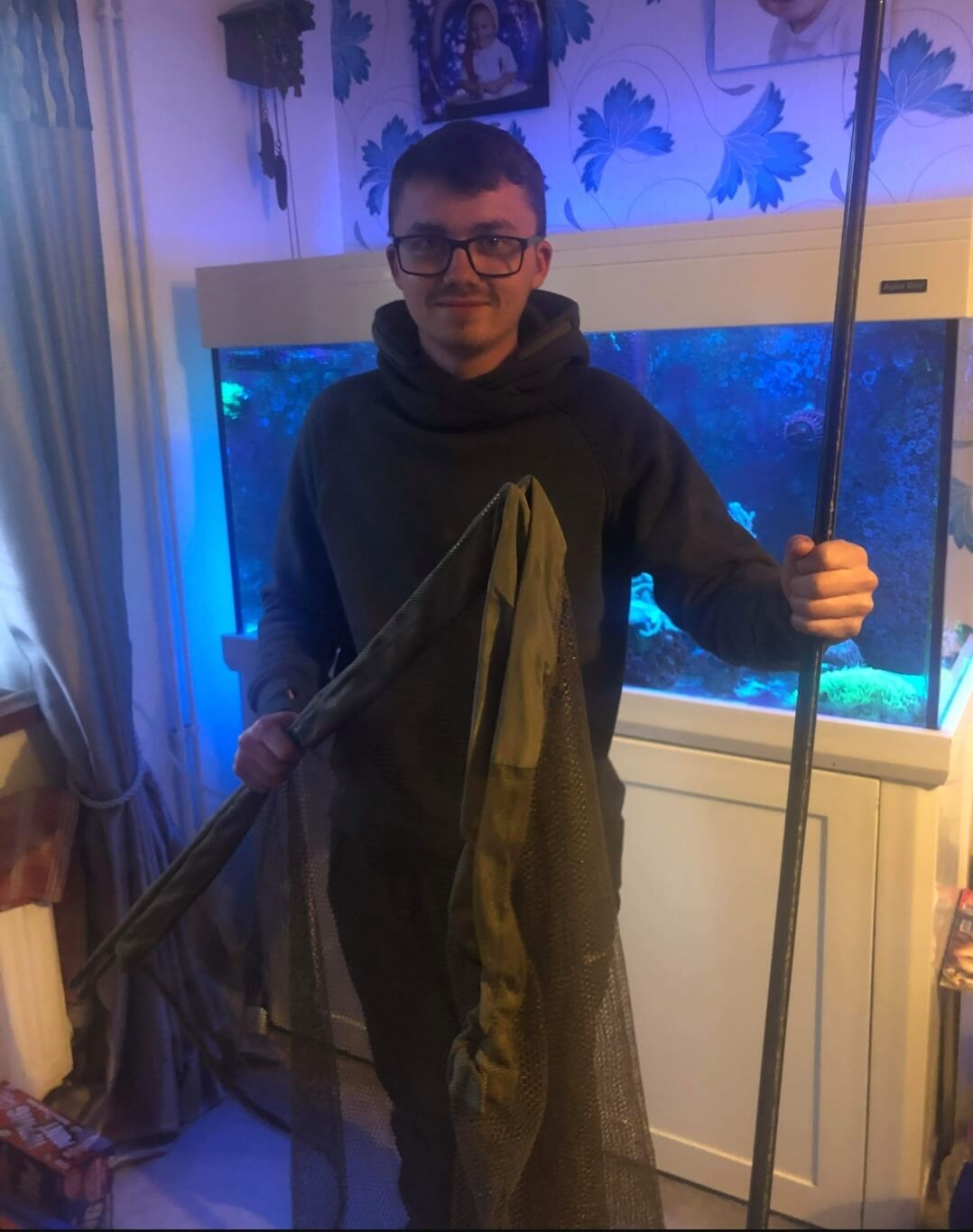 Jake Dadswell wins the Fox Horizon X3 Landing Net