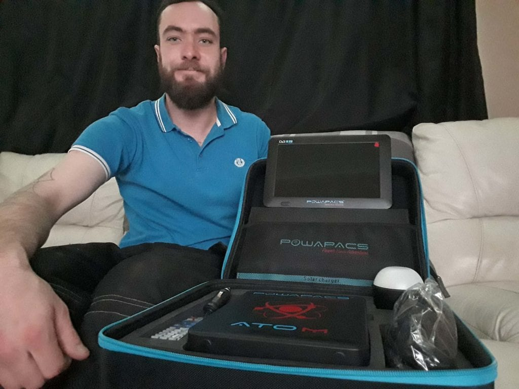 Josh Darley Wins the NHS Charity POWAPACS Bundle!